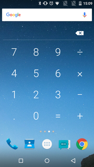 The Android Widget Of Calculator Welcome To My Blog